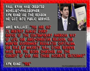 Paul Ryan: Ayn Rand Is The Reason I Got Into Politics
