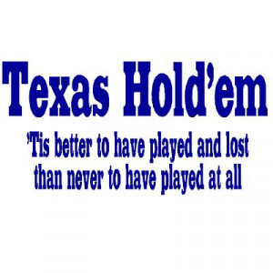 texas hold em rather be playing texas hold em the