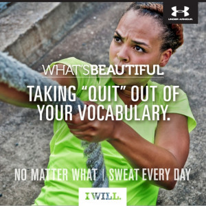 Under Armour just launched their third What's Beautiful campaign and ...