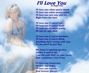 Love Poem - I'll Love You