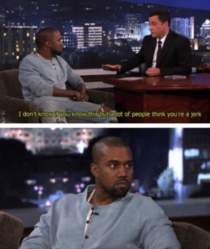 Kanye's shocked