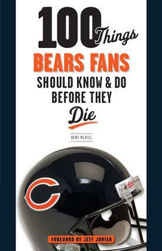 ... Mike Dika, Gale Sayers, and Dick Butkus? Learn more about your