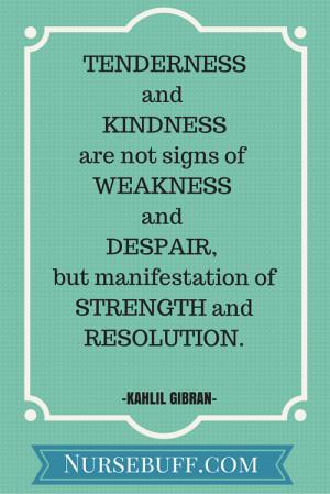 kindness inspirational nursing quotes