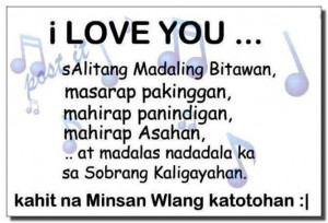 Love you Quotes – Tagalog love Quotes