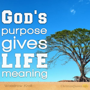 Ways God's Purpose Gives Meaning To Life