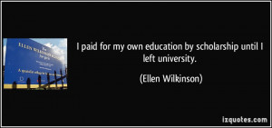 More Ellen Wilkinson Quotes