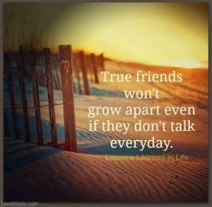 Sad when you lose friends, sometimes without notice or for no apparent ...