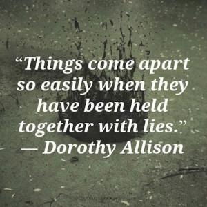 Cheating, lying, trust