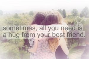 best friend, friend, hug, love