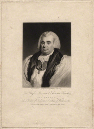 Samuel Horsley by Samuel William Reynolds after Mrs Barou before
