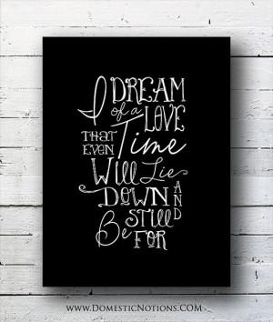 Typography - Practical Magic quote