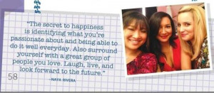Naya Rivera Quotes Naya amp 8217s quote from