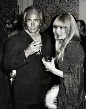 John Derek and Linda Evans