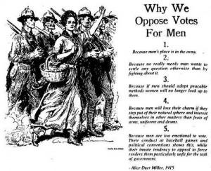 No Vote Men Joke 1 - funny Picture