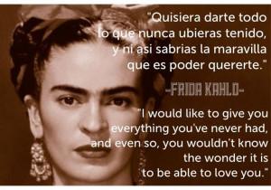 Powerful #Frida Kahlo #quote