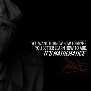 Rapper, mos def, quotes, sayings, mathematics, rap quote