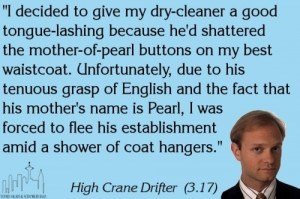 Frasier quote - Dry Cleaner