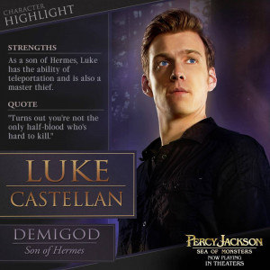 New Picture for Percy Jackson: Sea of Monsters… Luke Castellan!