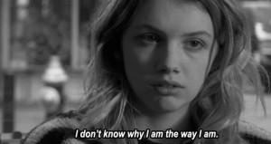 2t, cassie, girl, hannah murray, quote, skins, why