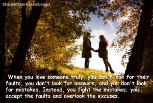 ... In love Walking In Autumn Park Along With Romantic Sayings Photos