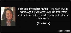 More Ann Beattie Quotes