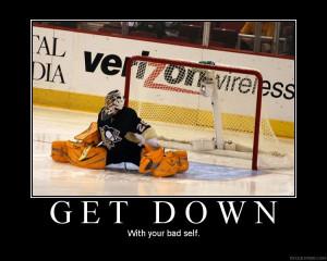 funny hockey signs