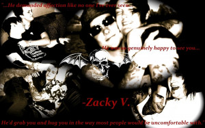 Zacky quote wallpaper by