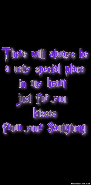 there will always be a very special place in my heart just for you ...
