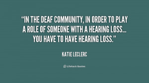 Deaf Quotes Inspirational Preview quote