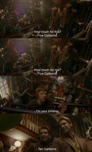 fred i george weasley, harry potter, ron weasley, weasley - inspiring ...