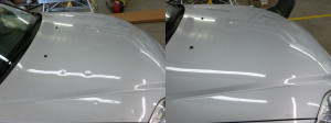 ... Honda Civic with Hail Damage Before and After Paintless Dent Repair