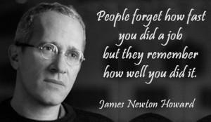 James Newton Howard Quotes