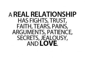 Real Relationship Has