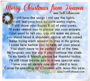 Merry Christmas from Heaven