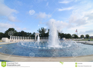 Royalty Free Stock Photos: Washington DC, World War II Memorial