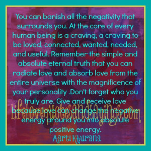 Positive Energy..