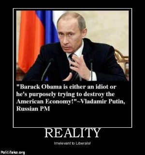 OBAMA CARTOONS: Vladamir Putin: