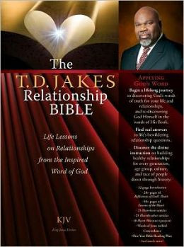 The T.D. Jakes Relationship Bible Deluxe Retail Edition (leatherette ...