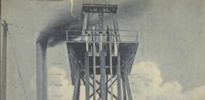 Gallows, Frame and Hoist, Anaconda Mine, Montana.