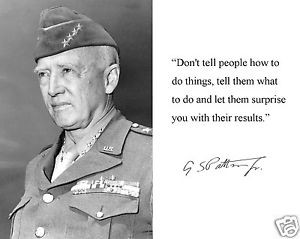 General-George-S-Patton-World-War-2-Autograph-Famous-Quote-8-x-10 ...