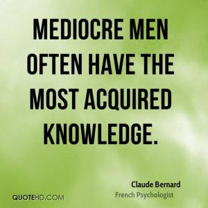 Claude Bernard Quotes