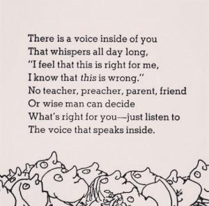 Listen to your inner voice