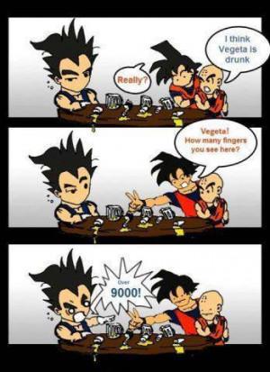 Dragon Ball Z Over 9 000 Memes
