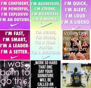 Volleyball Setter Quotes Tumblr #volleyball #setter #outside #libero # ...