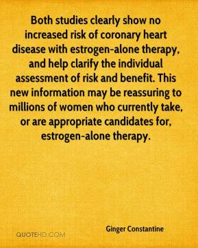 Ginger Constantine - Both studies clearly show no increased risk of ...