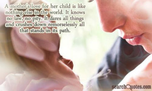 Mother's Love Quotes for Her Daughter