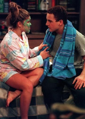 Title: danielle fishel and ben savage photo