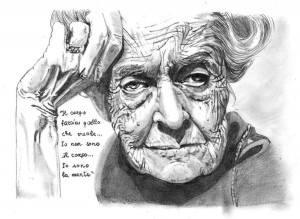 Rita Levi Montalcini by Marie-Esther