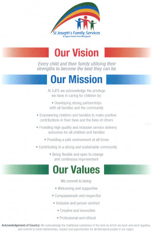 Vision Mission And Values