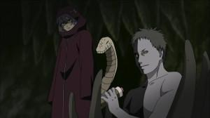 Zetsu recebe o pergaminho de Kisame.